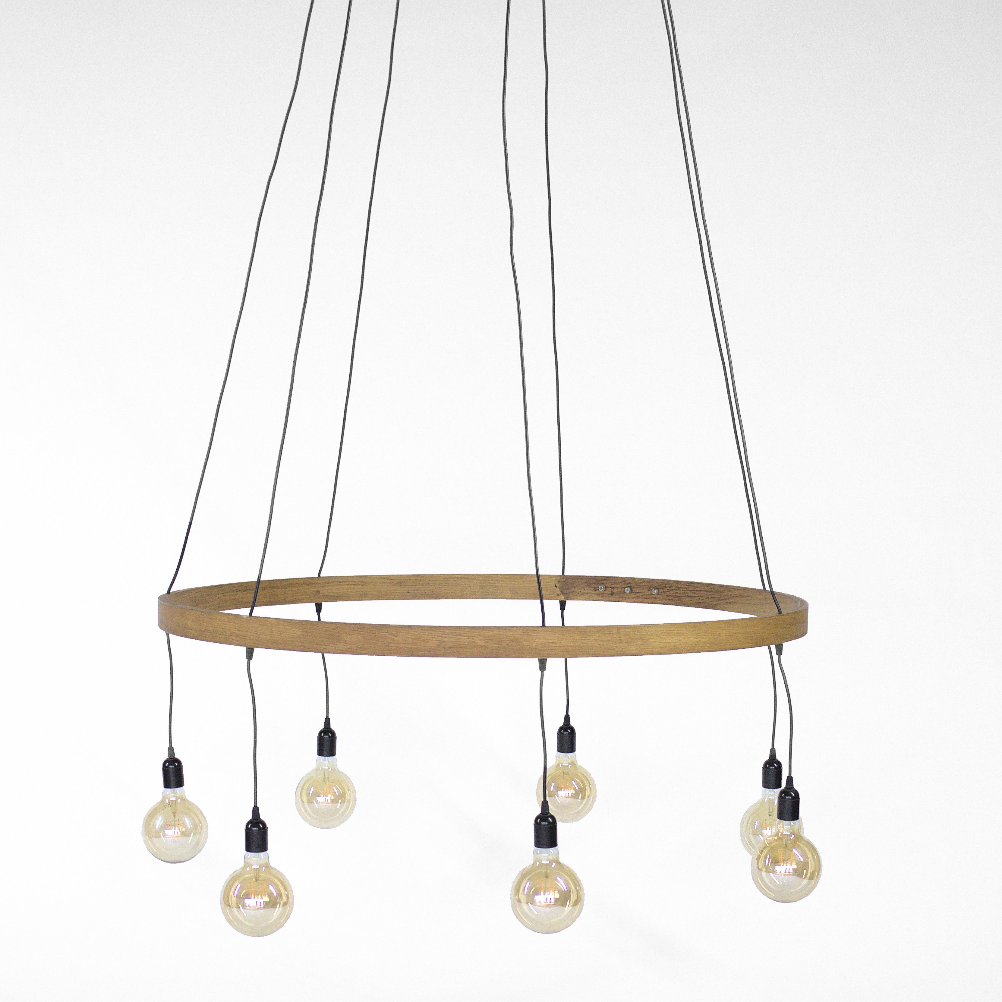 Steam Bent Chandelier